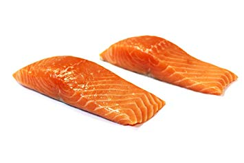 Farm-Raised Marine Atlantic Salmon w/ Skin-On, 12 oz