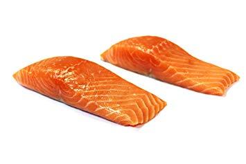 Farm-Raised Marine Atlantic Salmon w/ Skin-On, 12 oz