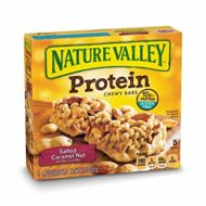 Nature Valley Chewy Granola Bar, Protein, Gluten Free, Salted Caramel Nut