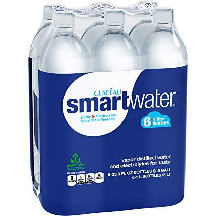 Smartwater - 6 Pack, Distilled Water