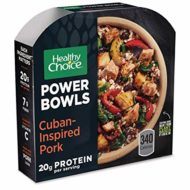 Healthy Choice, Cuban-Inspired Pork Bowl, 9.5 Ounce