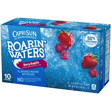 Capri Sun Roarin' Waters, Berry