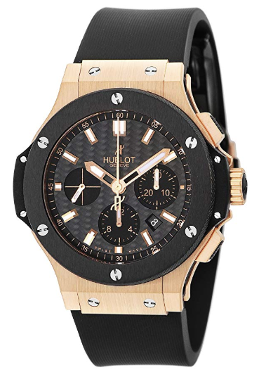 HUBLOT Big Bang Black Magic Evolize Carbon Black Dial 301.PM.1780.RX Men Watch